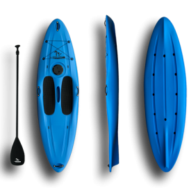 Stand up paddle Rotomold board blue